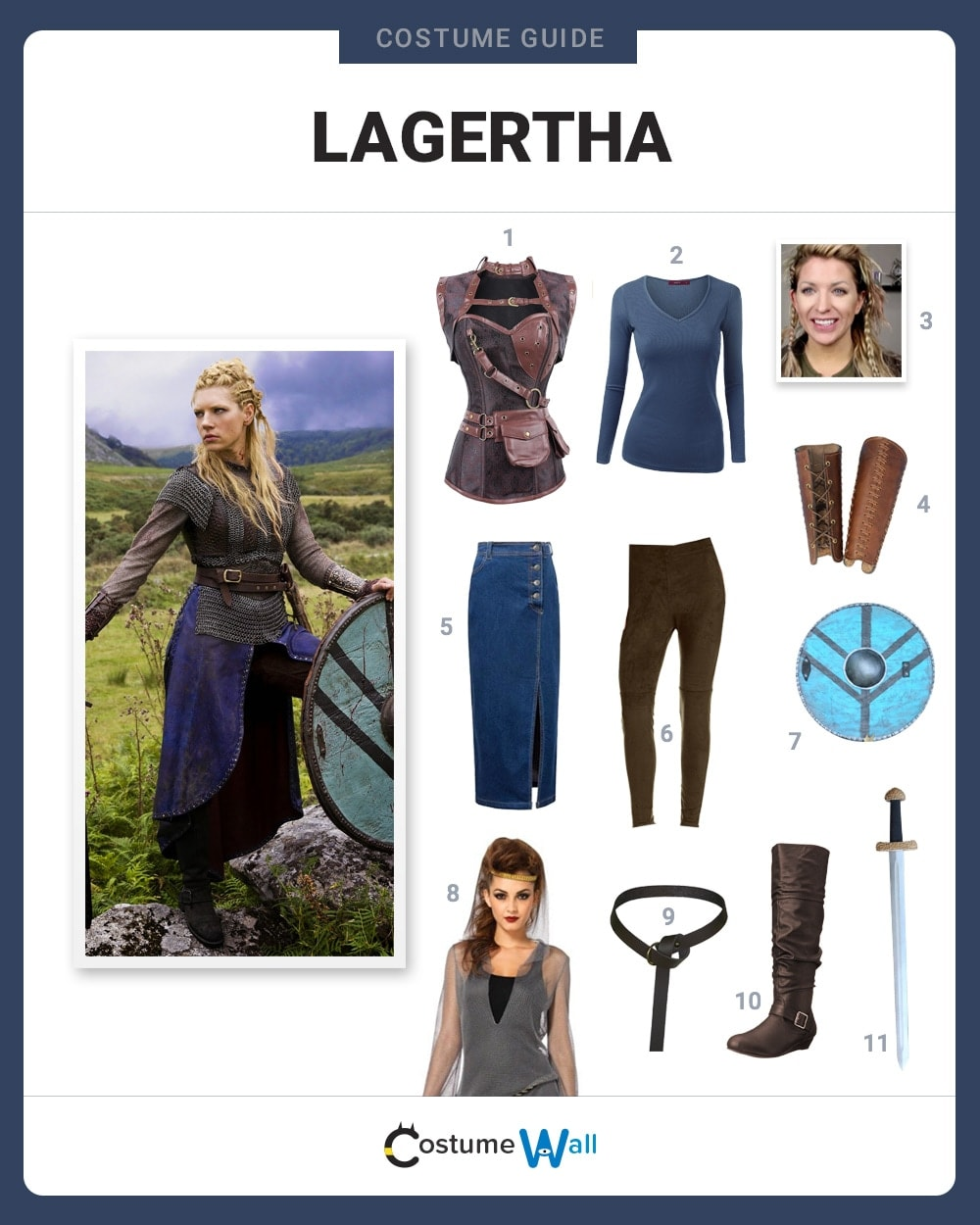 lagertha costume pattern-#27
