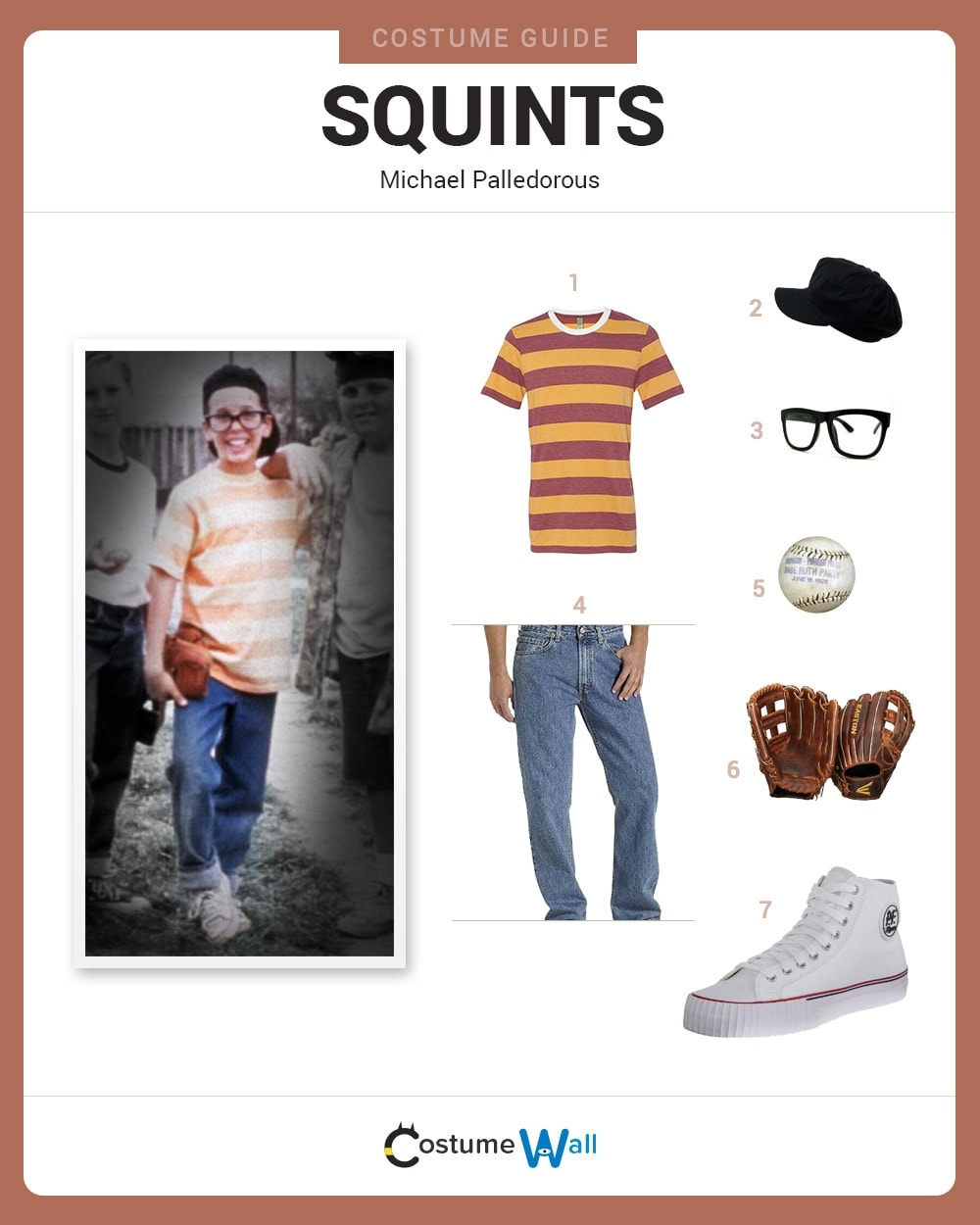Dress Like Squints Costume Diy Outfit Costume Wall