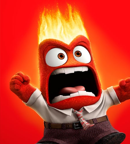 Pictures from of inside out anger