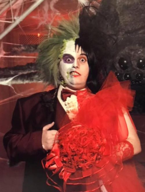 Beetlejuice & Lydia (The Original Red Wedding)