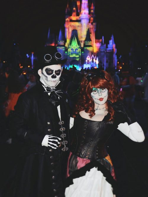Steampunk Jack and Sally