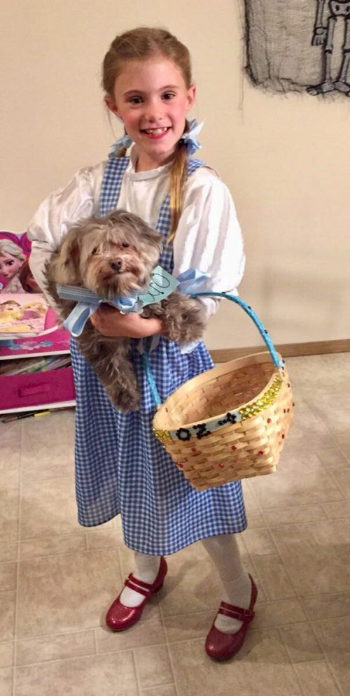 Dorothy and Toto