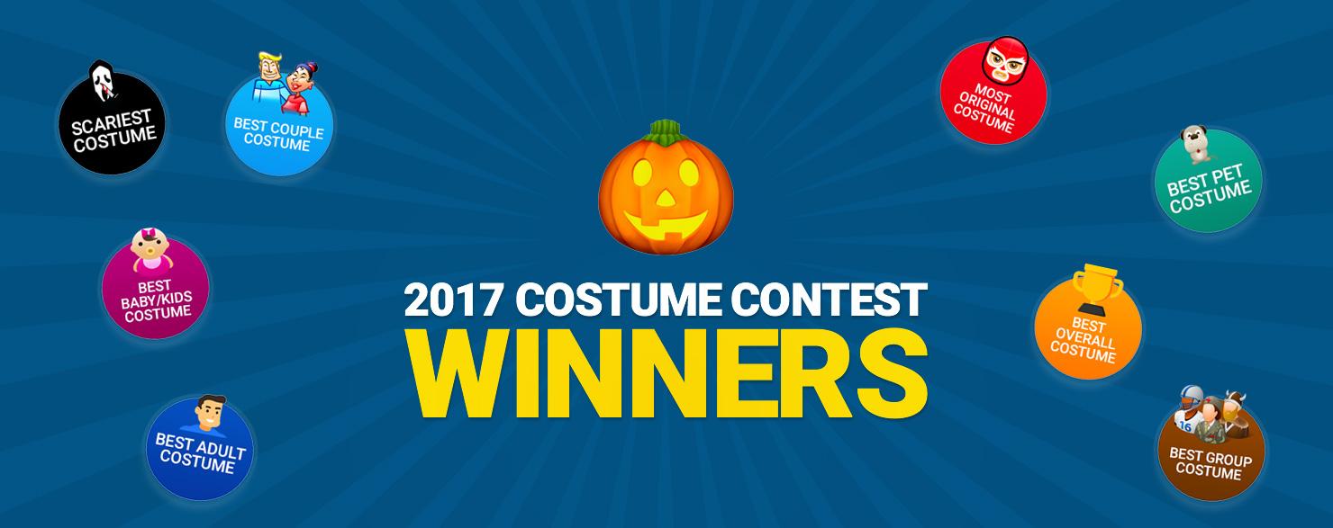 2017 Costume Winners