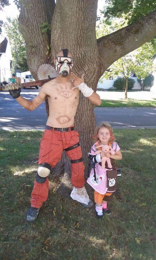 Borderlands Psycho and Tiny Tina