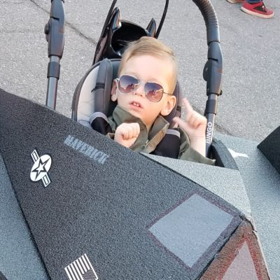 Maverick and the Stealth Fighter