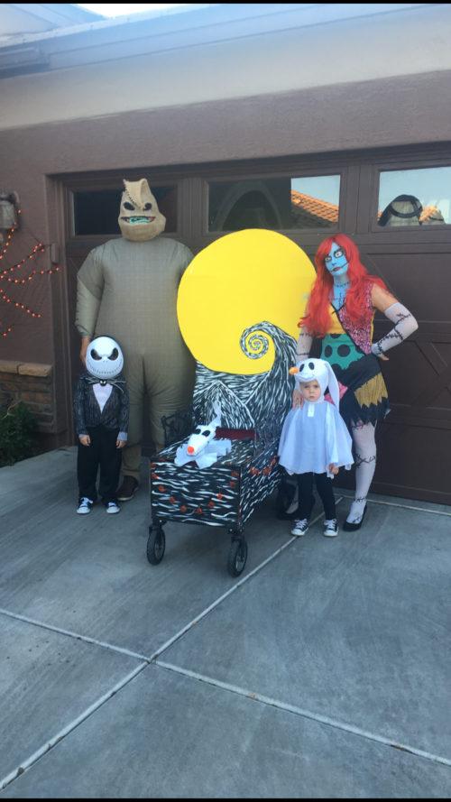 Nightmare Before Christmas Family!