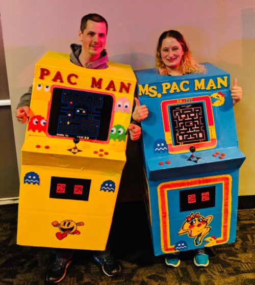 Mr. and Ms. Pacman