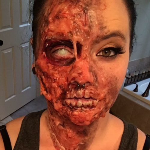 Zombie Burn Victim