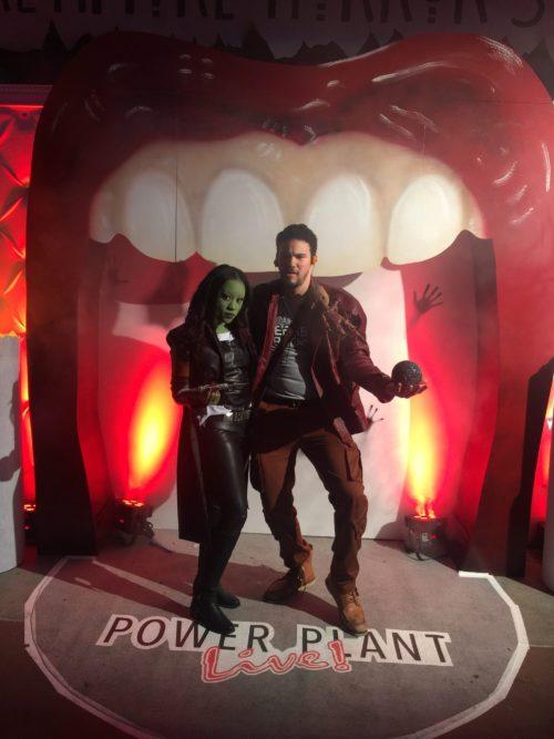 Gamora and Star Lord