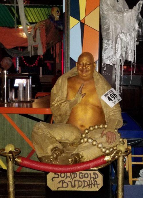 Solid Gold Buddha