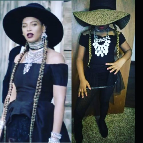 Zbaby in Beyoncé Formation
