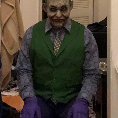 Joker Ventriloquist Doll