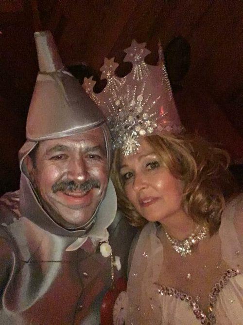 Glinda and the Tin Man