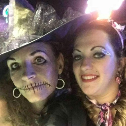 Good and Evil Wicked Witch and 50's Rocker