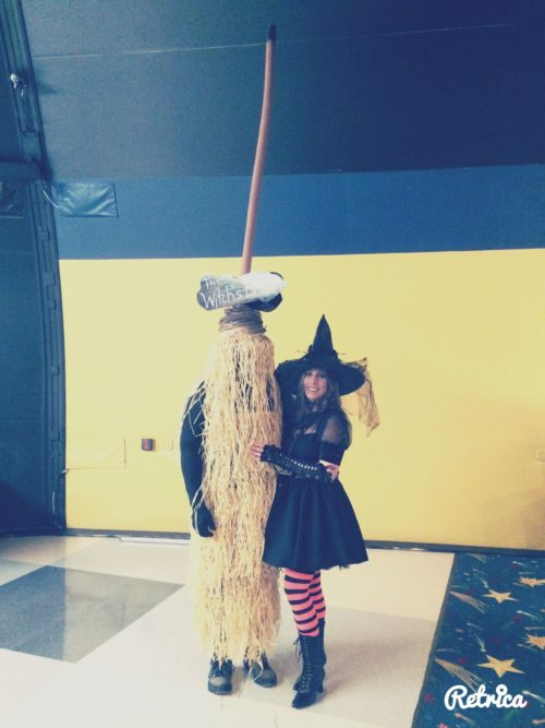 The Witch and Her Broom
