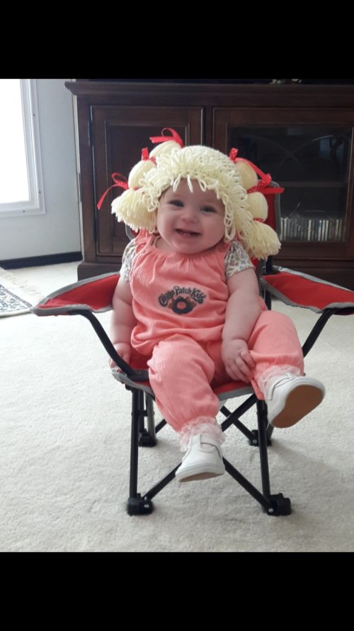 Baby Girl Cabbage Patch