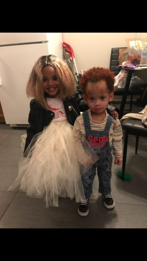 Bride of Chucky and Chucky