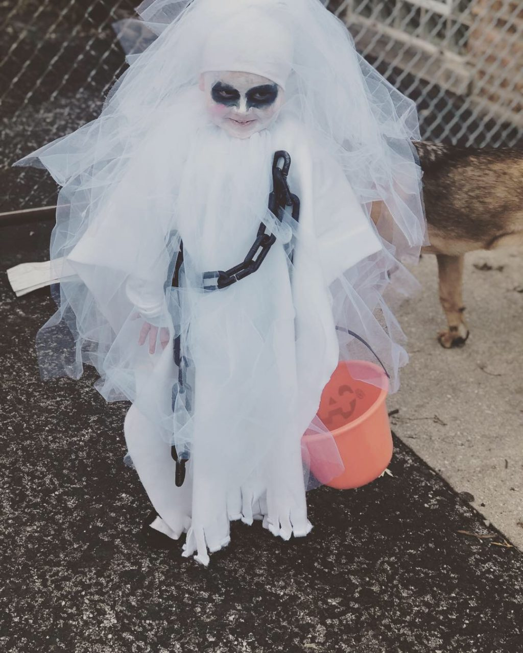 Real Scary Ghost
