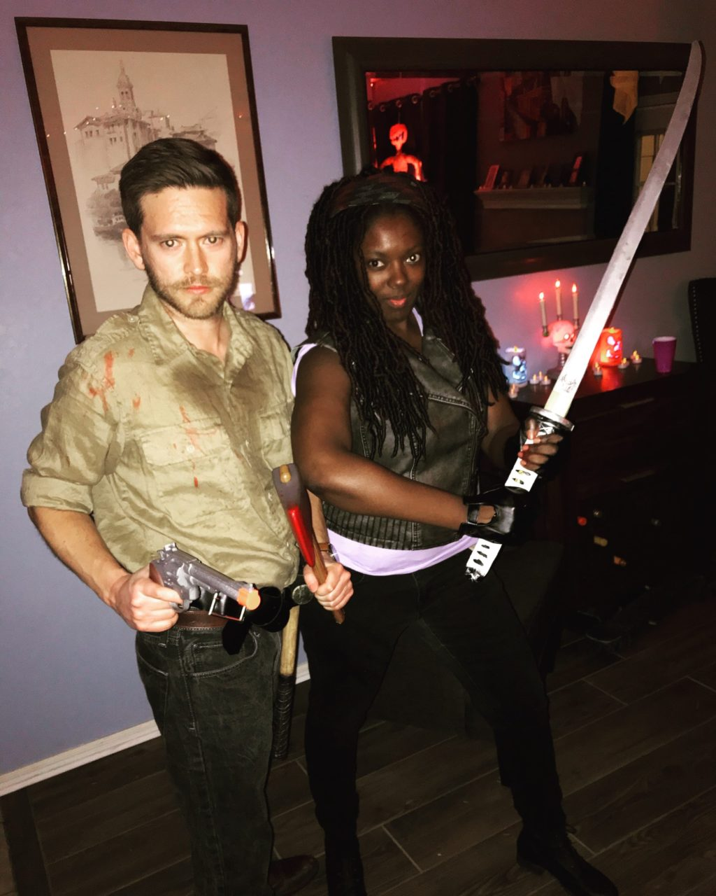 Michonne and Rick