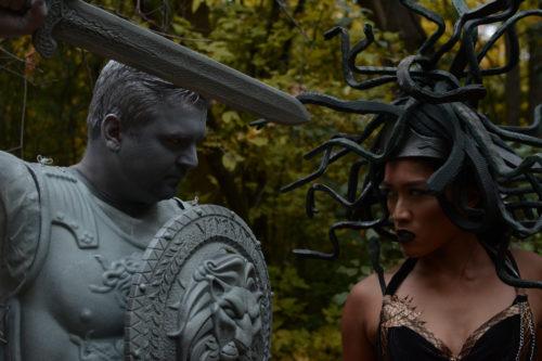 Medusa and Stone Man