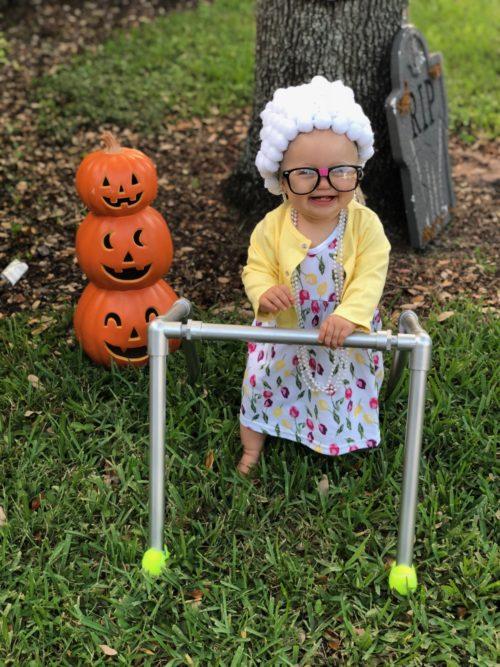 Cute Little Old Lady