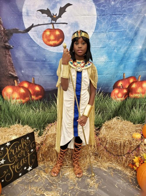 Trick or Treat with Egyptian Queen Cleopatra