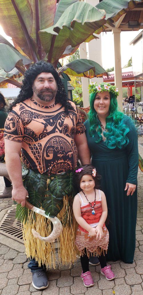 Moana family