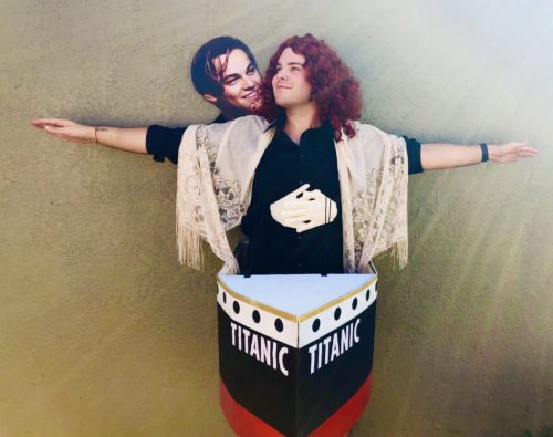 Halloween costume of Titanic proportions ? #ImFlyingJack