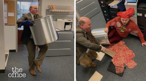 Office Guy Spills Chili
