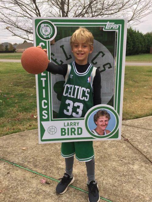 Larry Bird Basketball Card