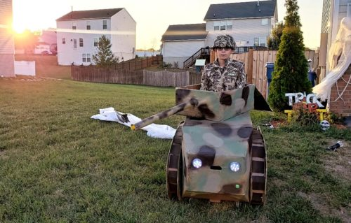 Army Tank Inspired by M*A*S*H