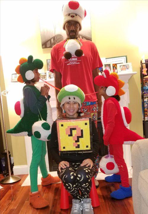 Crochet Yoshi's on the loose…
