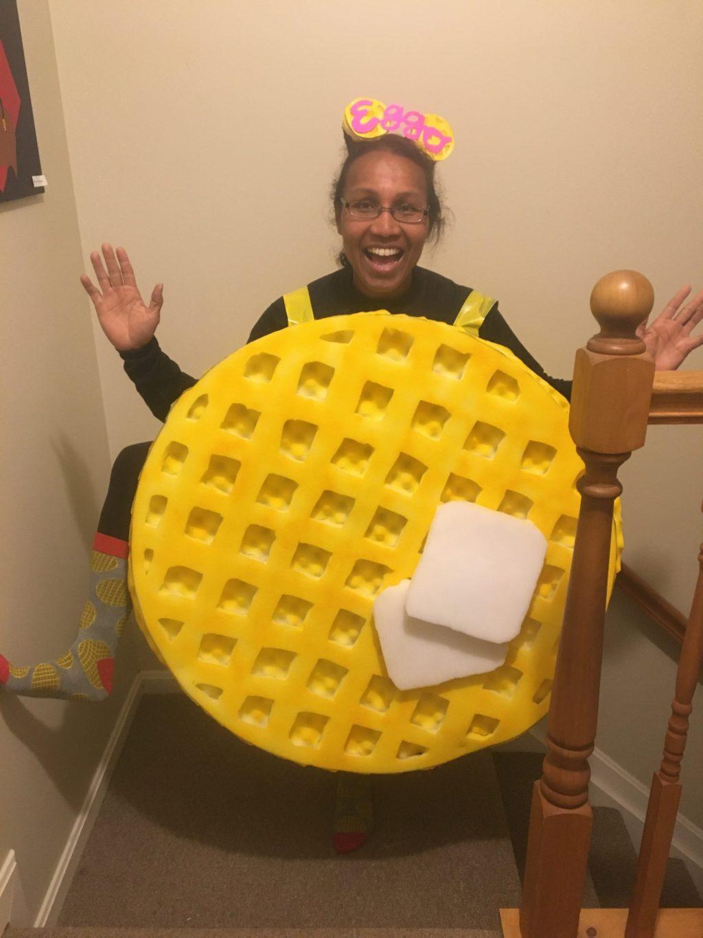 Sandy Eggo Waffle
