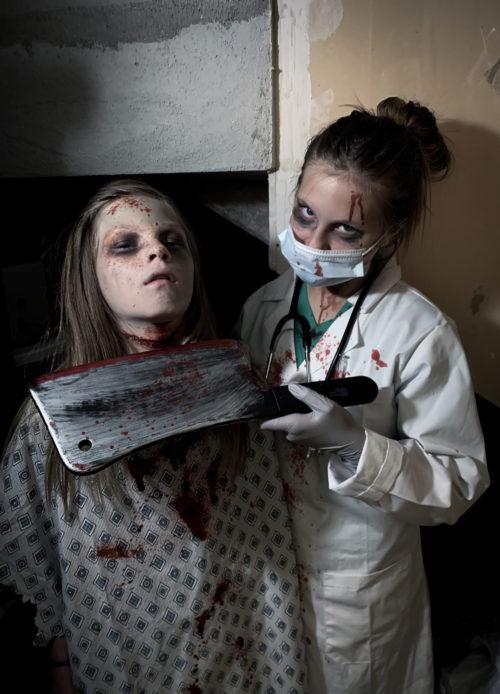 Killer Doctor and her Dead Patient