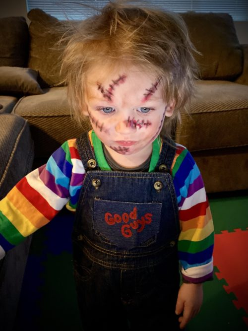 Chucky Plots his Plan to Get all the Candy!