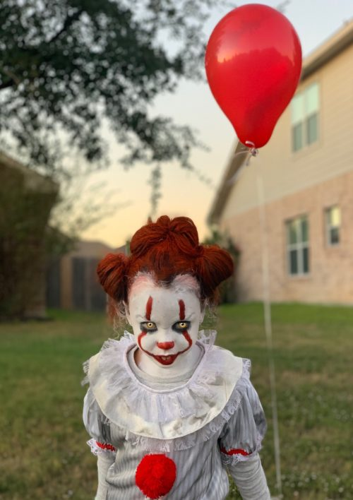 Pennywise and Georgie ?