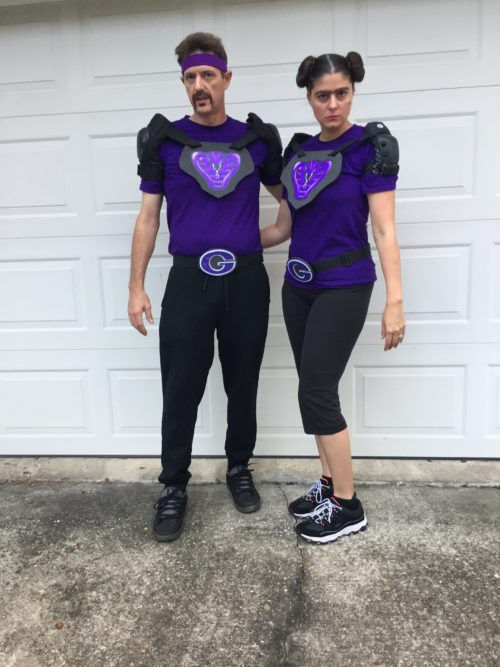 White and Fran from DodgeBall: A True Underdog Story