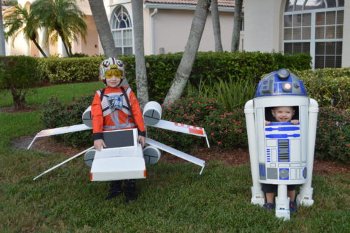May the Force Be with You (Luke Skywalker and R2D2)