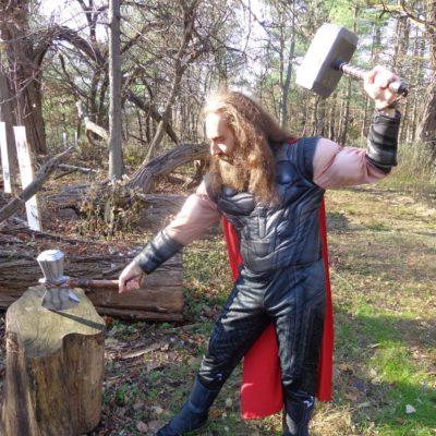 It is I, Thor O'Daniel-san!