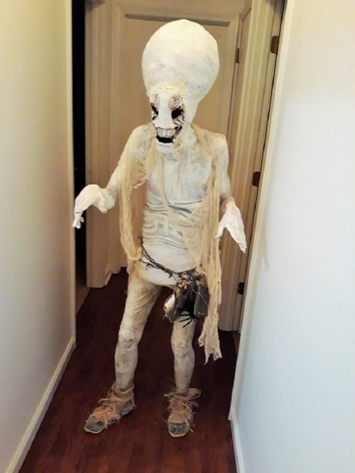 Hauntingly Memorable Alien