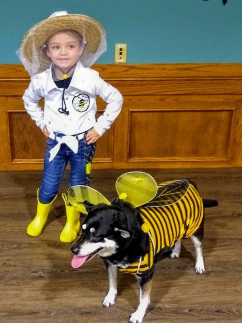 The Beekeeper and her queen bee