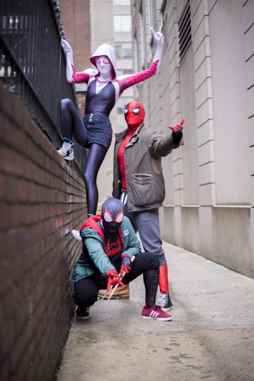 Spidey Dream Team!