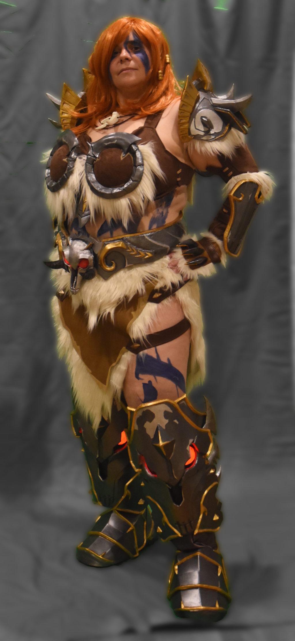Barbarian Zarya from Overwatch