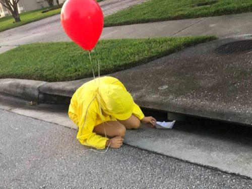 Georgie in the Drain