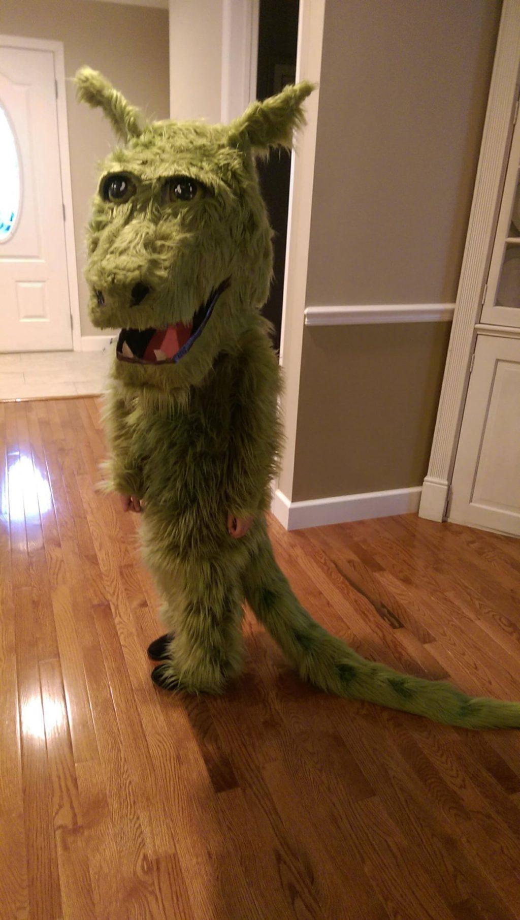 Pete's Furry Dragon friend