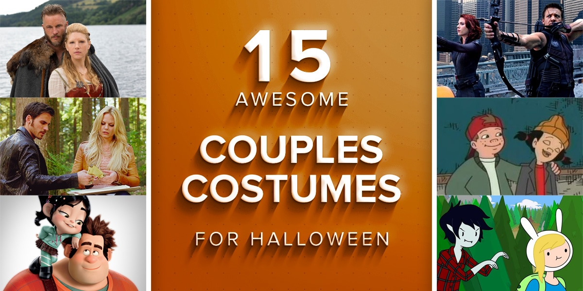 15 Awesome Couples Costumes for Halloween  sc 1 st  Costume Wall & 15 Awesome Couples Costumes for Halloween | Costume Wall